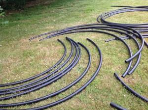 black tubing